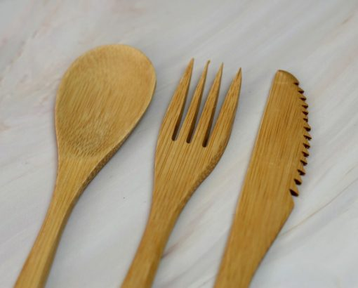 bambusowe sztucce ekologiczne