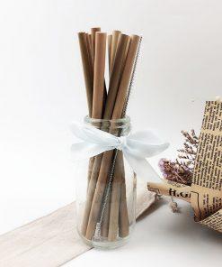 Bambusowe słomki