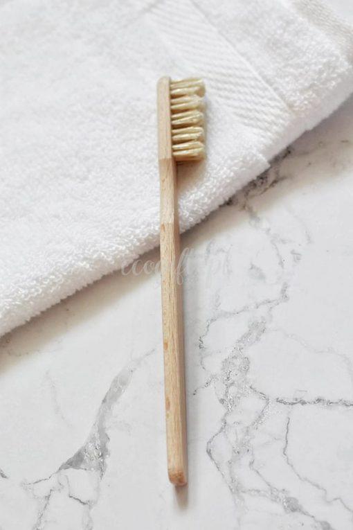 drewniana szczoteczka produkt polski