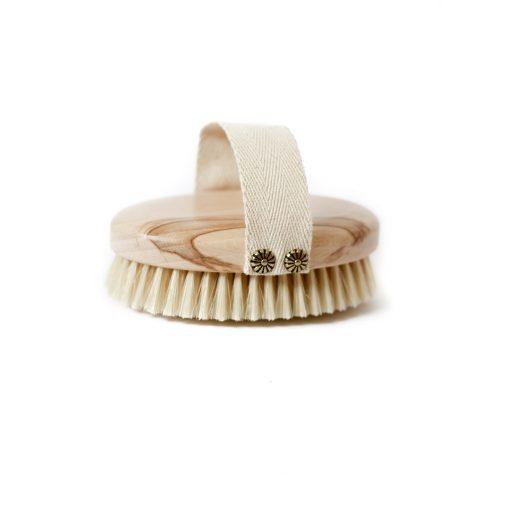 szczotka do masazu na sucho naturalne wlosie ecogift.pl dry skin brush