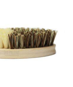 wegańska ekologiczna szczotka do warzyw ecogift eko prezent zero waste