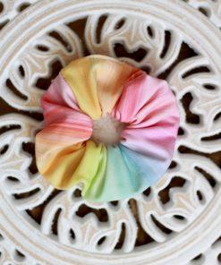 gumka scrunchie kolorowa