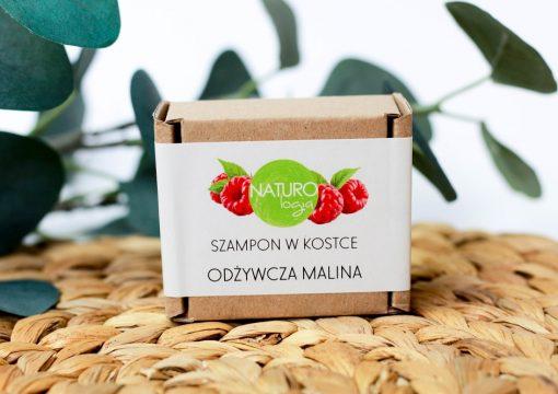 szampon w kostce odżywcza malina naturologia