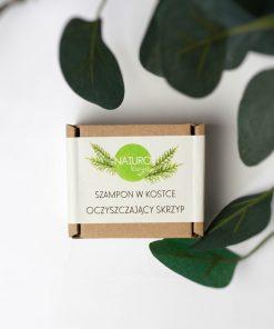 szampon w kostce oczyszczający skrzyp naturologia
