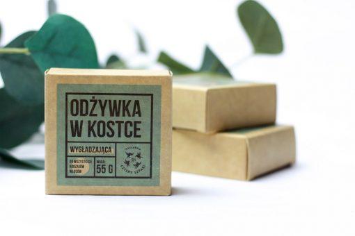 odzywka w kostce wygładzająca 4 Szpaki zero waste eko