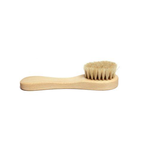 szczotka do mycia twarzy masażu naturalne włosie eko zero waste