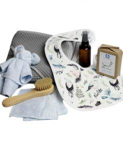 zestaw eko prezent dla niemowlaka premium baby shower
