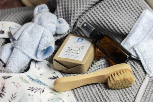 zestaw prezent eko dla niemowlaka premium baby shower