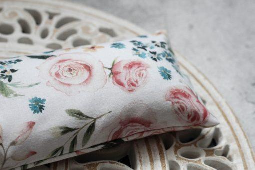 woreczek z gorczycą róże kwiaty wiosenny relaksacyjny ecogift eko prezent 2