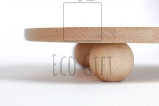patera drewniana boho naturalna bukowa zero waste ecogift.pl słodki stół